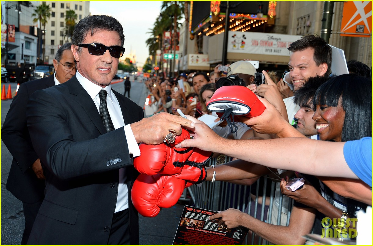 ryan lochte expendables 2 premiere with sylvester stallone 302702893