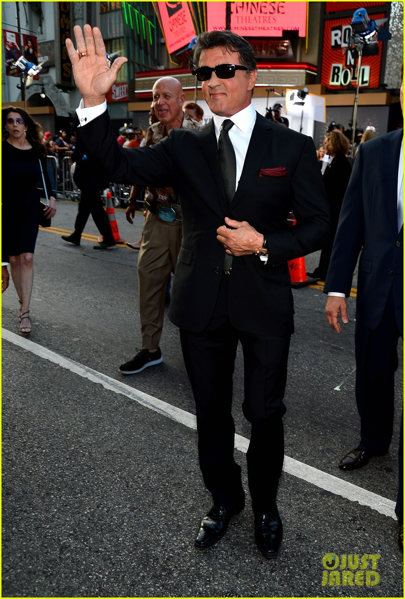 ryan lochte expendables 2 premiere with sylvester stallone 342702897