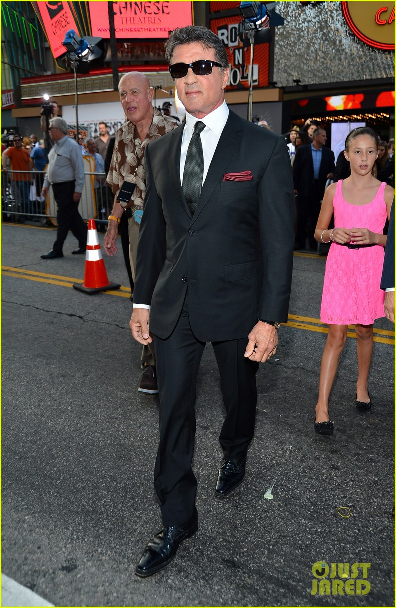 ryan lochte expendables 2 premiere with sylvester stallone 362702899