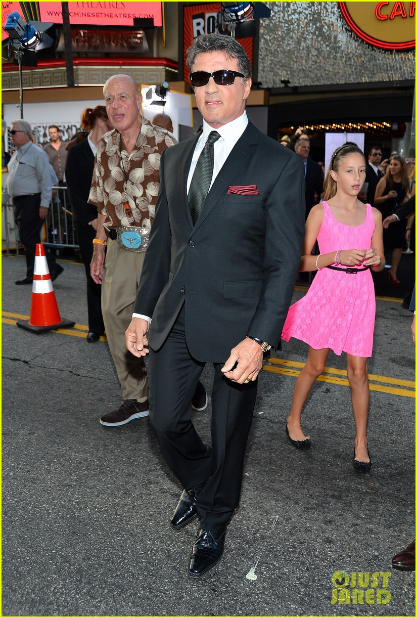 ryan lochte expendables 2 premiere with sylvester stallone 382702901