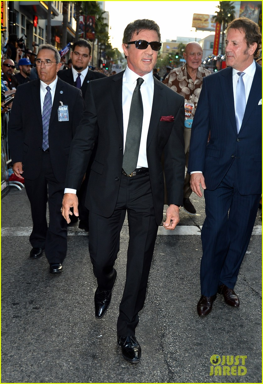 ryan lochte expendables 2 premiere with sylvester stallone 422702905