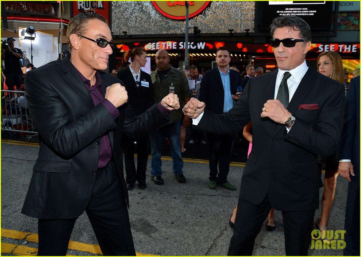 ryan lochte expendables 2 premiere with sylvester stallone 432702906