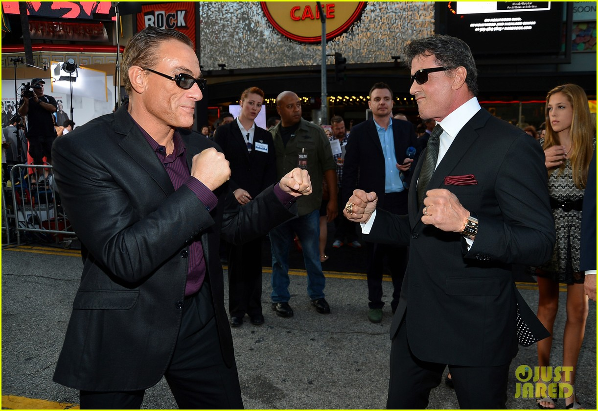 ryan lochte expendables 2 premiere with sylvester stallone 502702913