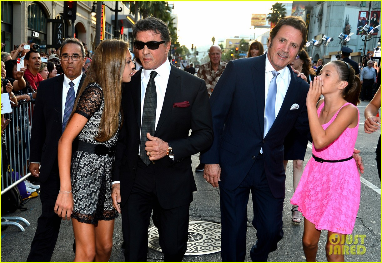 ryan lochte expendables 2 premiere with sylvester stallone 542702917