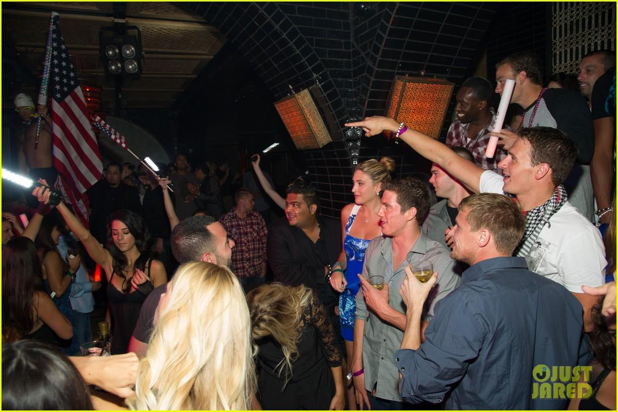 ryan lochte las vegas pool party weekend 352704480