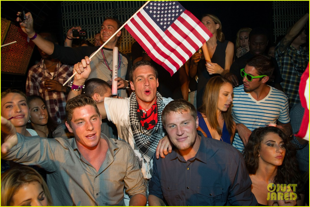 ryan lochte las vegas pool party weekend 492704494