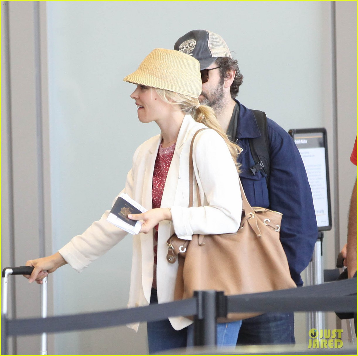 rachel mcadams michael sheen lax airport 032699734