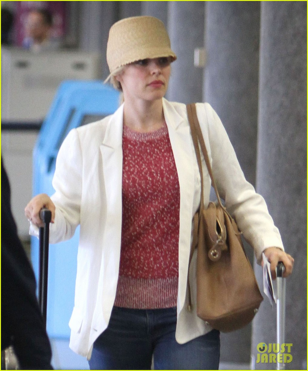 rachel mcadams michael sheen lax airport 072699738