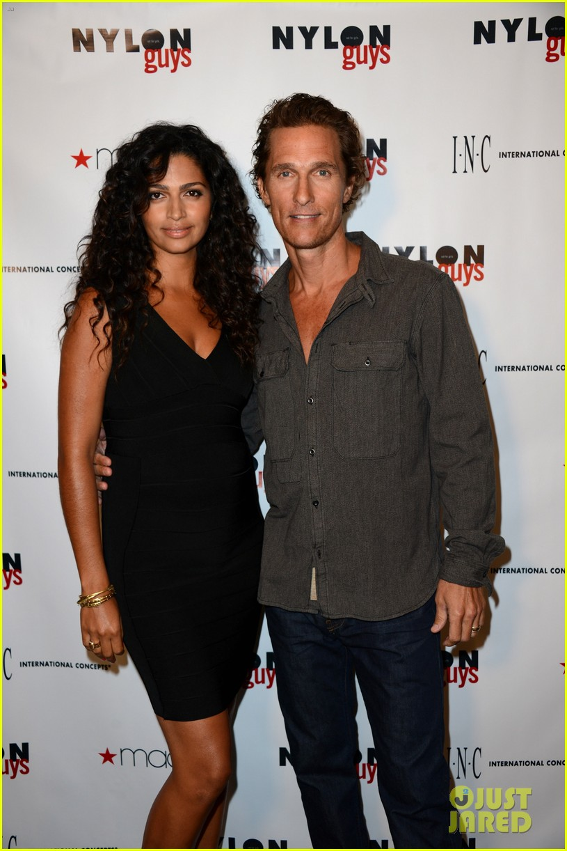 matthew mcconaughey camila alves nylon guys just keep livin 122702930