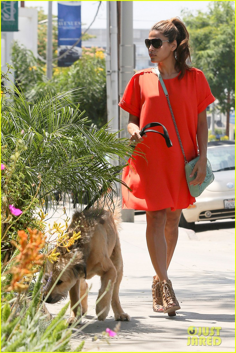 eva mendes beverly hills dog walker 092696064