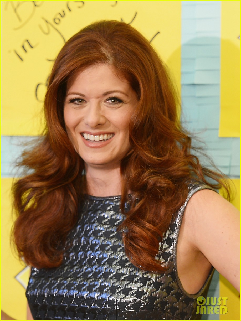 debra messing post it program launch is a smash 022706987