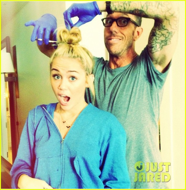 Miley Cyrus: New Short Hair!