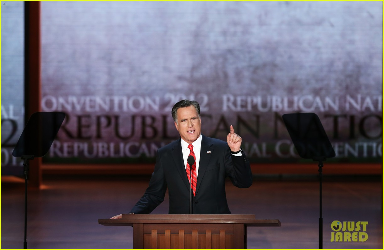 romneys republican national convention speech analysis