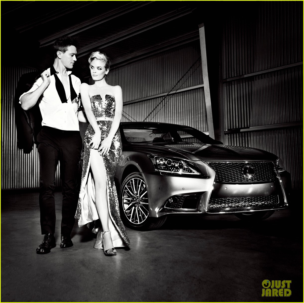 jaime king kyle newman lexus laws of attraction shoot 012695540