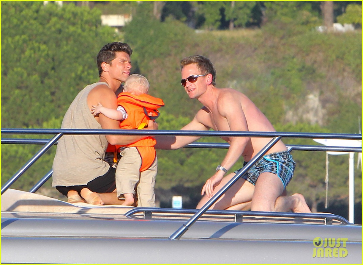 neil patrick harris saint tropez with the family 11