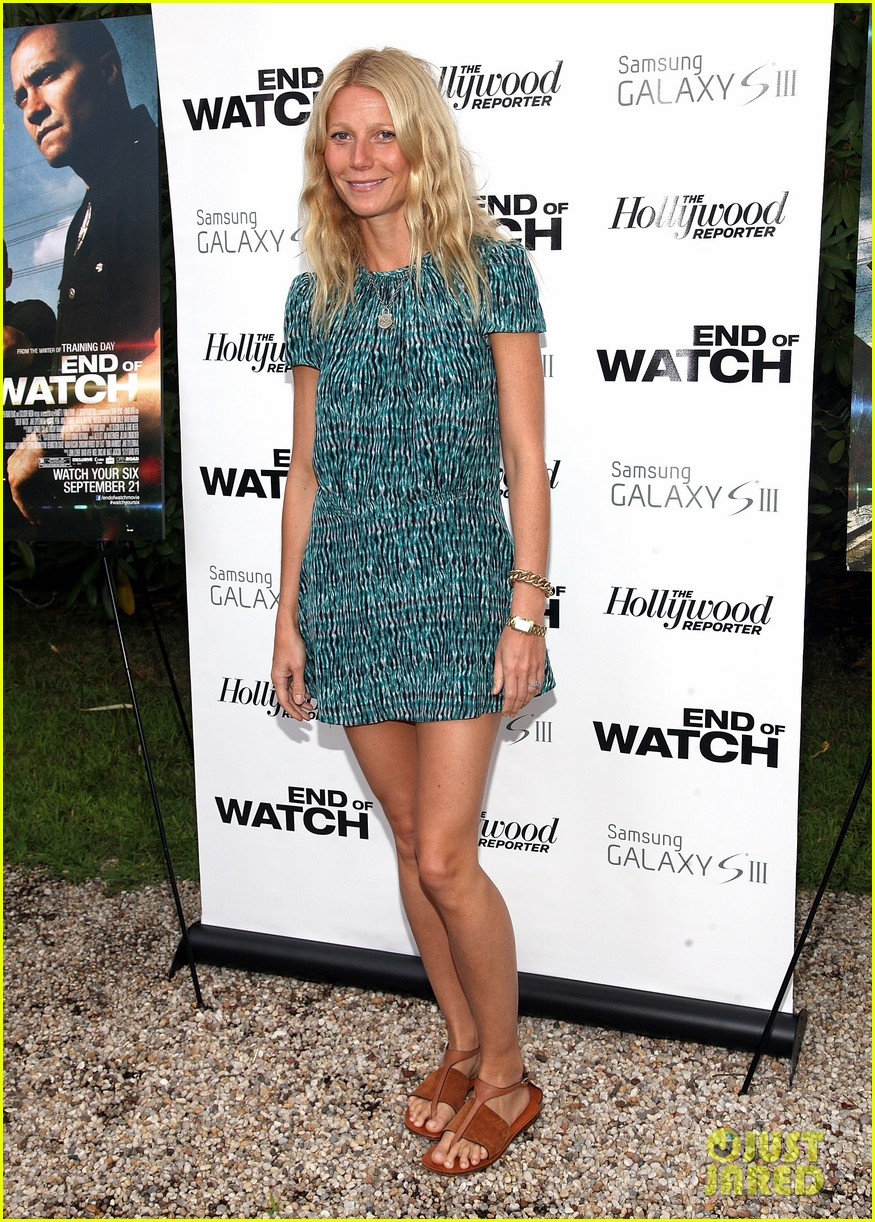 paltrow end of watch screening 012705206