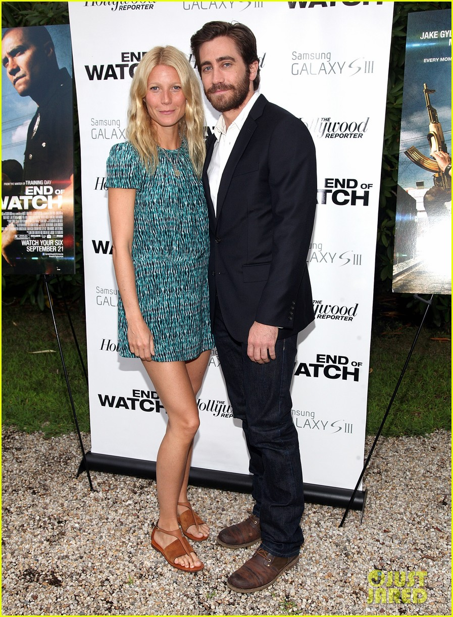 paltrow end of watch screening 022705207
