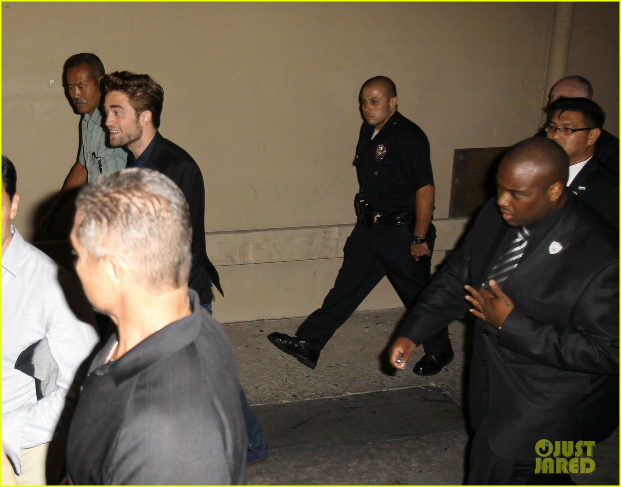 robert pattinson jimmy kimmel live appearance 202707135
