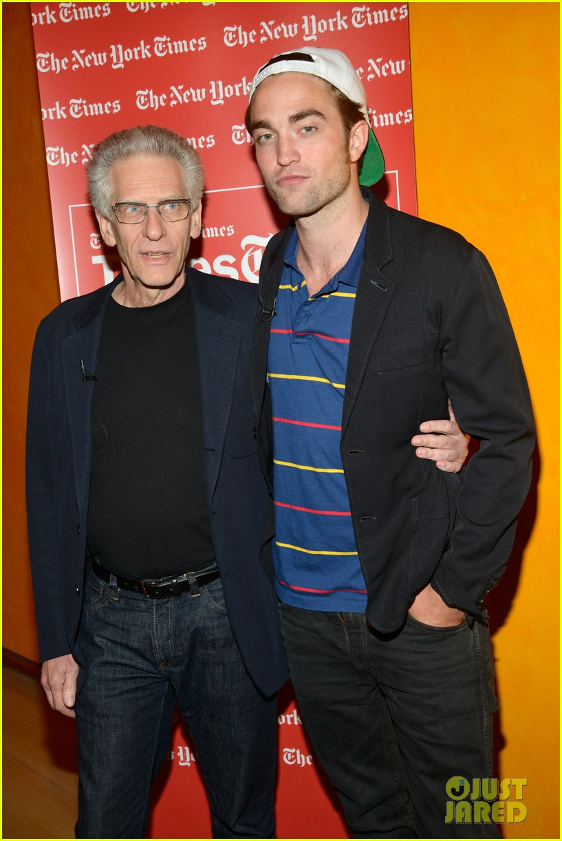 robert pattinson times talk with david cronenberg 032702532