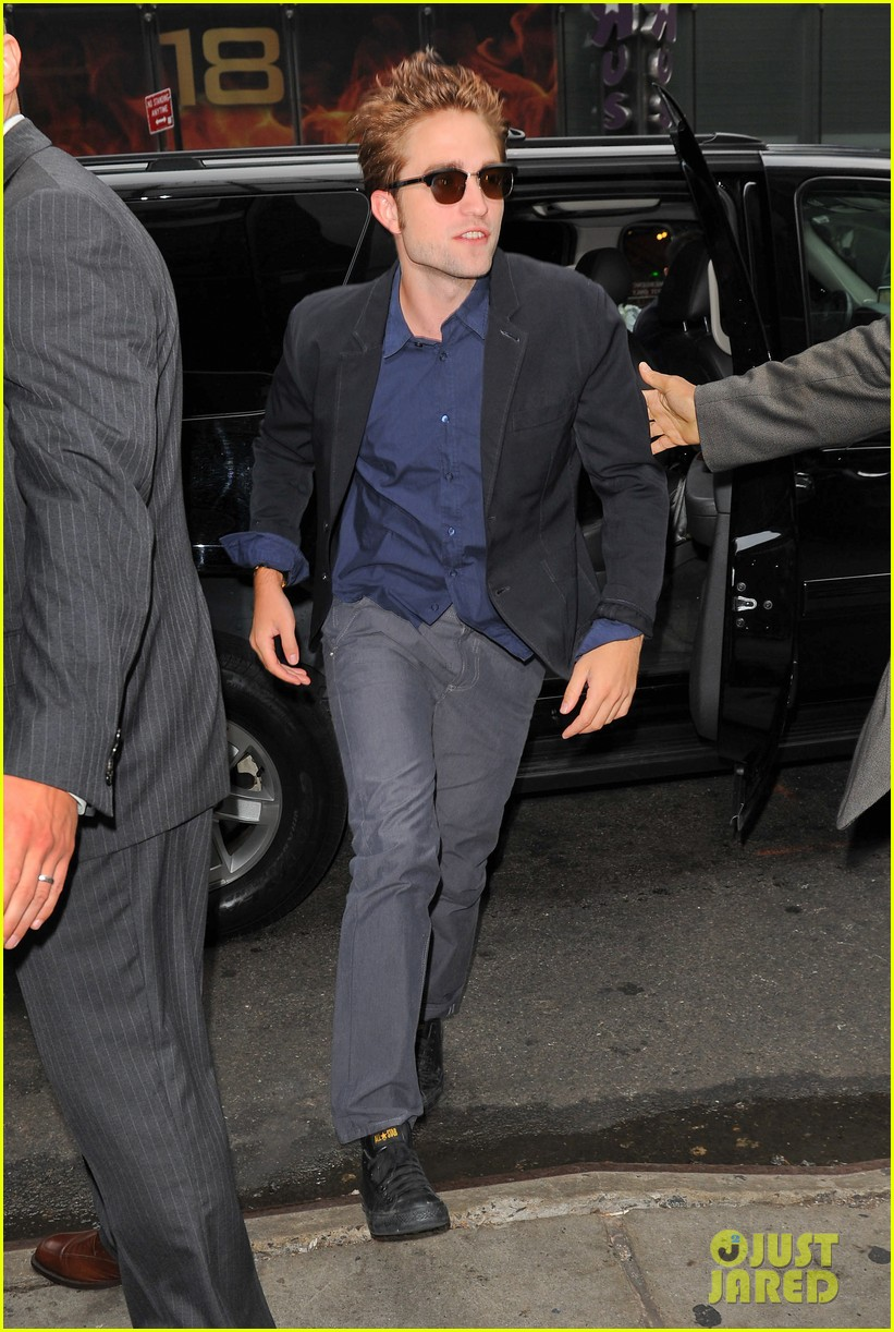 robert pattinson today show 07