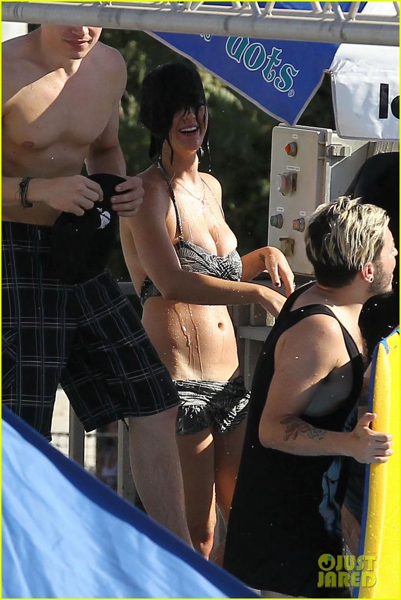 Katy Perry: Bikini Beautiful at Raging Waters Waterpark