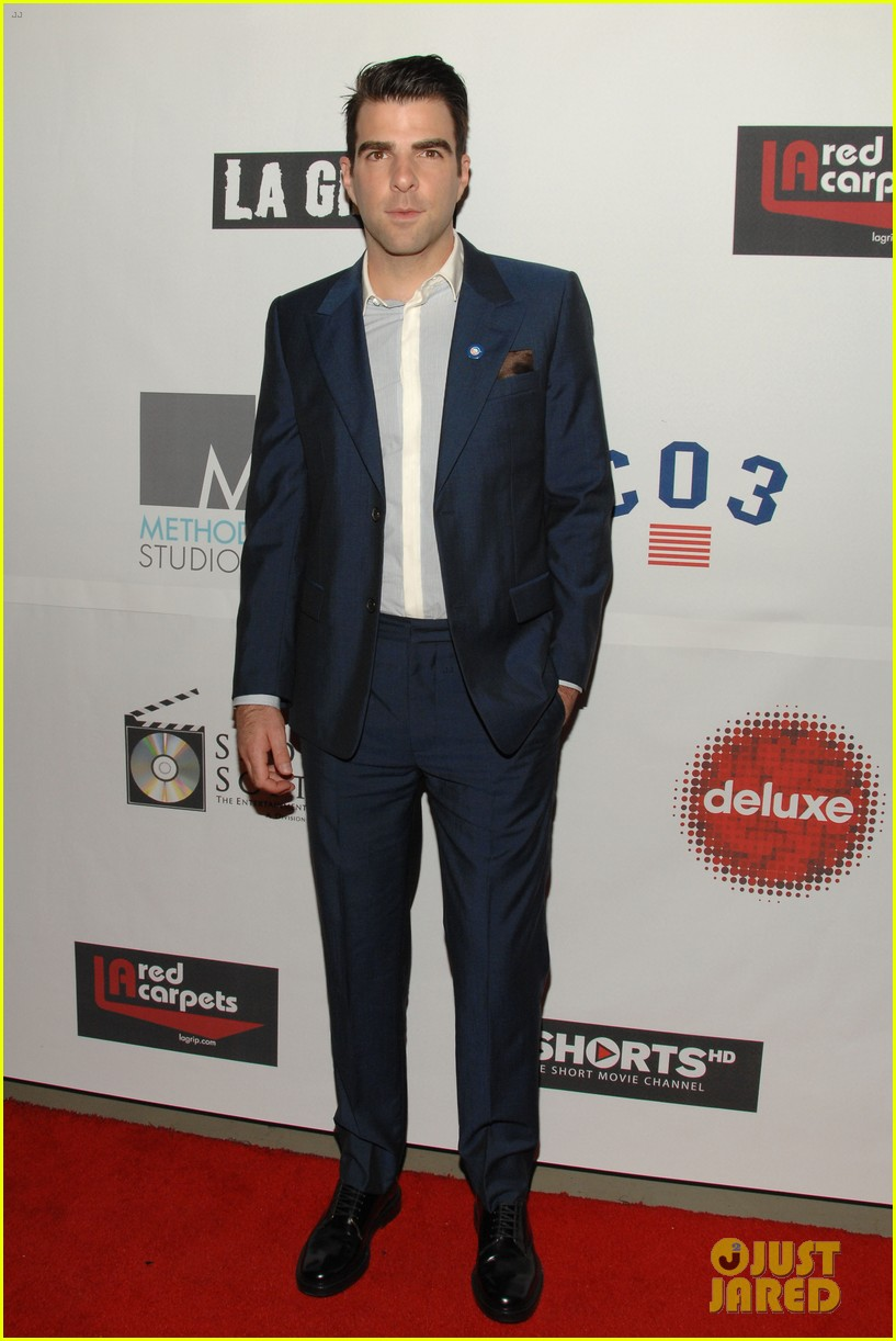 zachary quinto 8th annual hollyshorts film festival opening 01