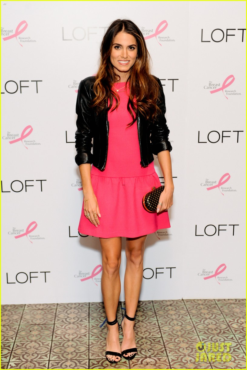 nikki reed shenae grimes pink ladies fight breast cancer 012703317