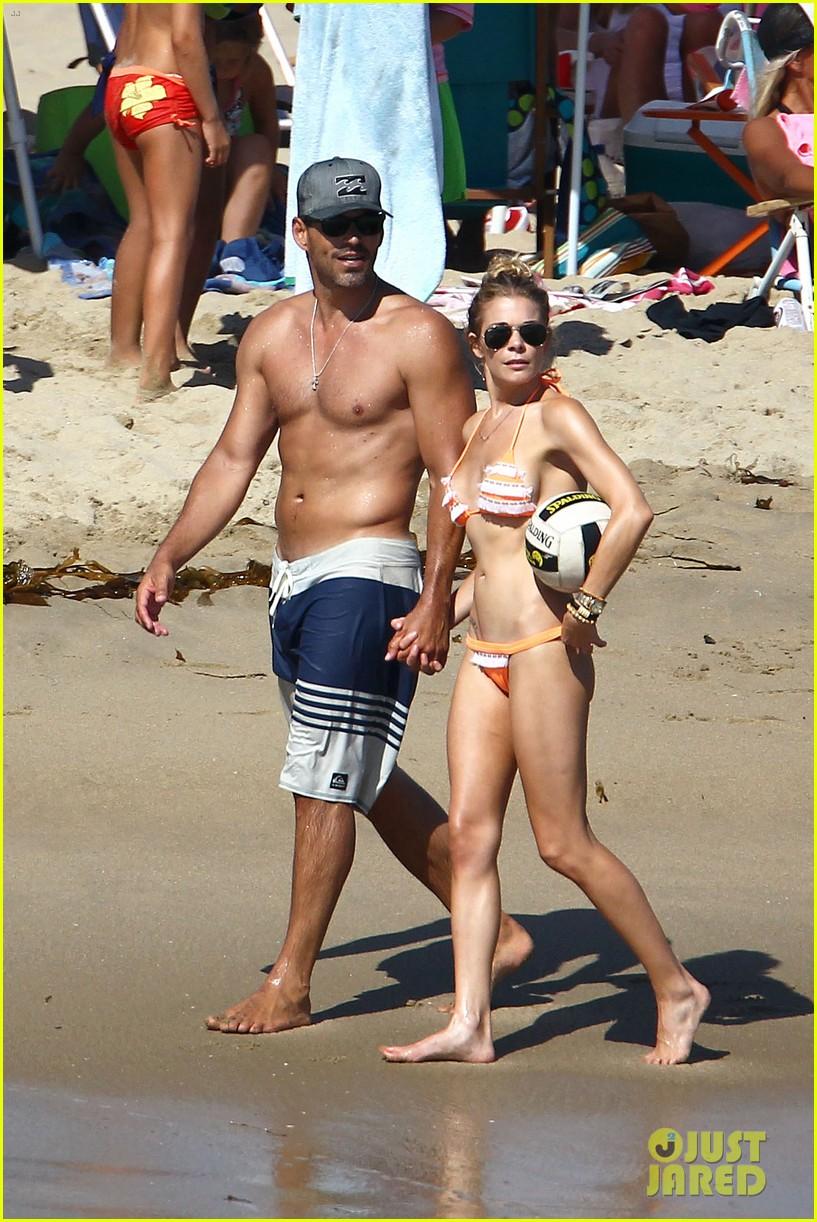 leann rimes bikini beach babe with eddie cibrian 012701477