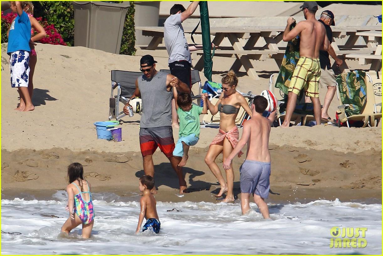 leann rimes bikini beach babe with eddie cibrian 482701524