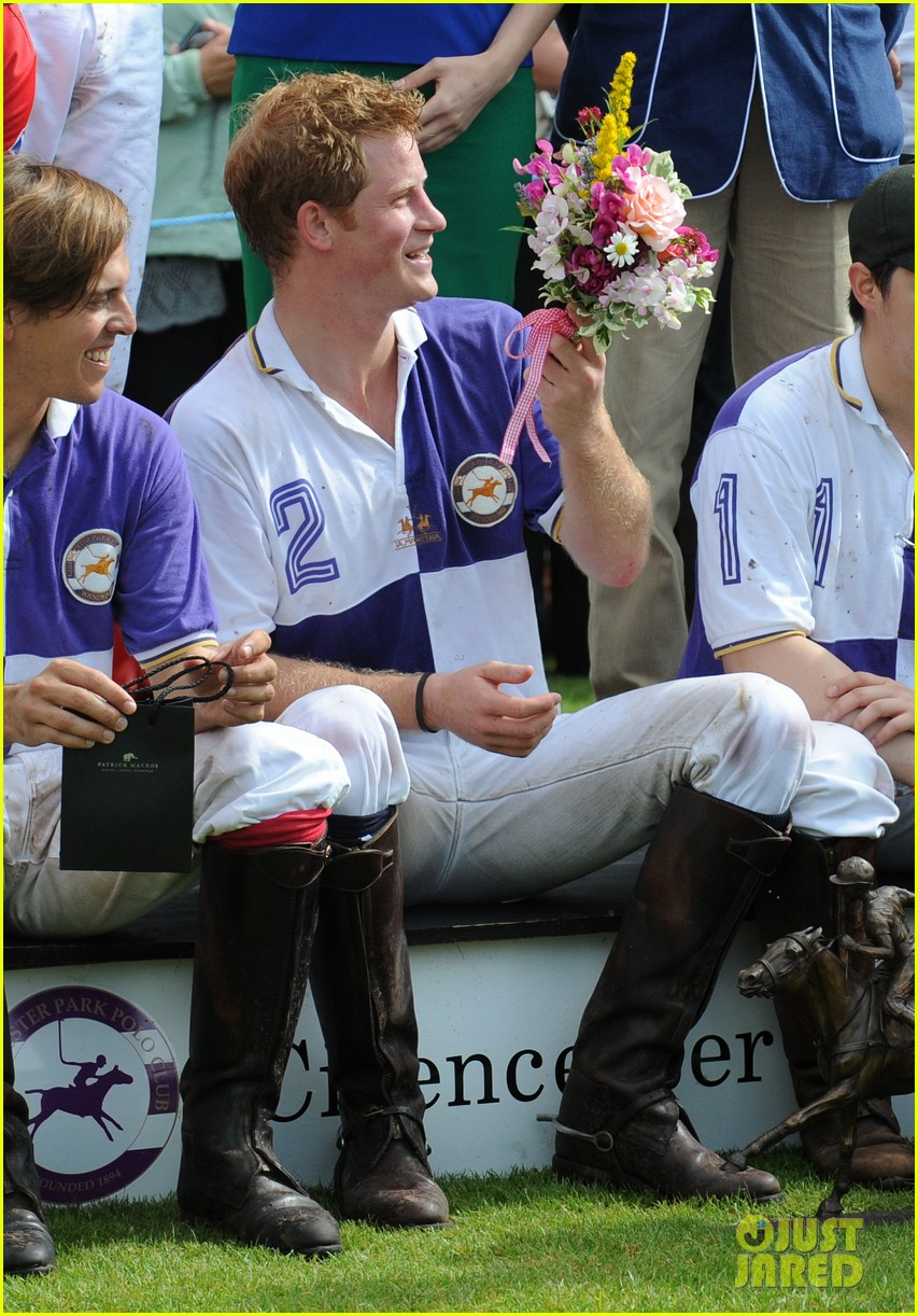 prince harry william charity polo match 082697259