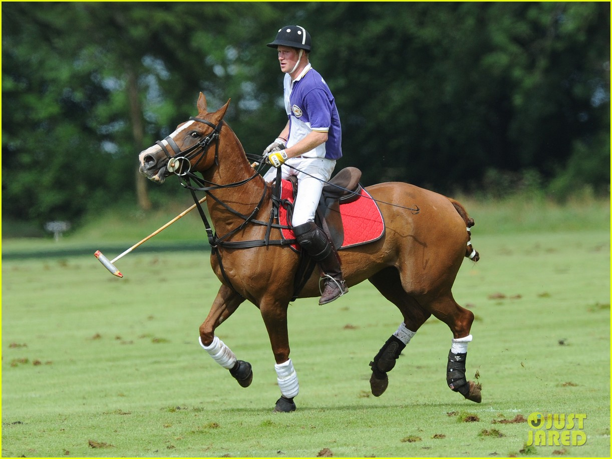 prince harry william charity polo match 112697262