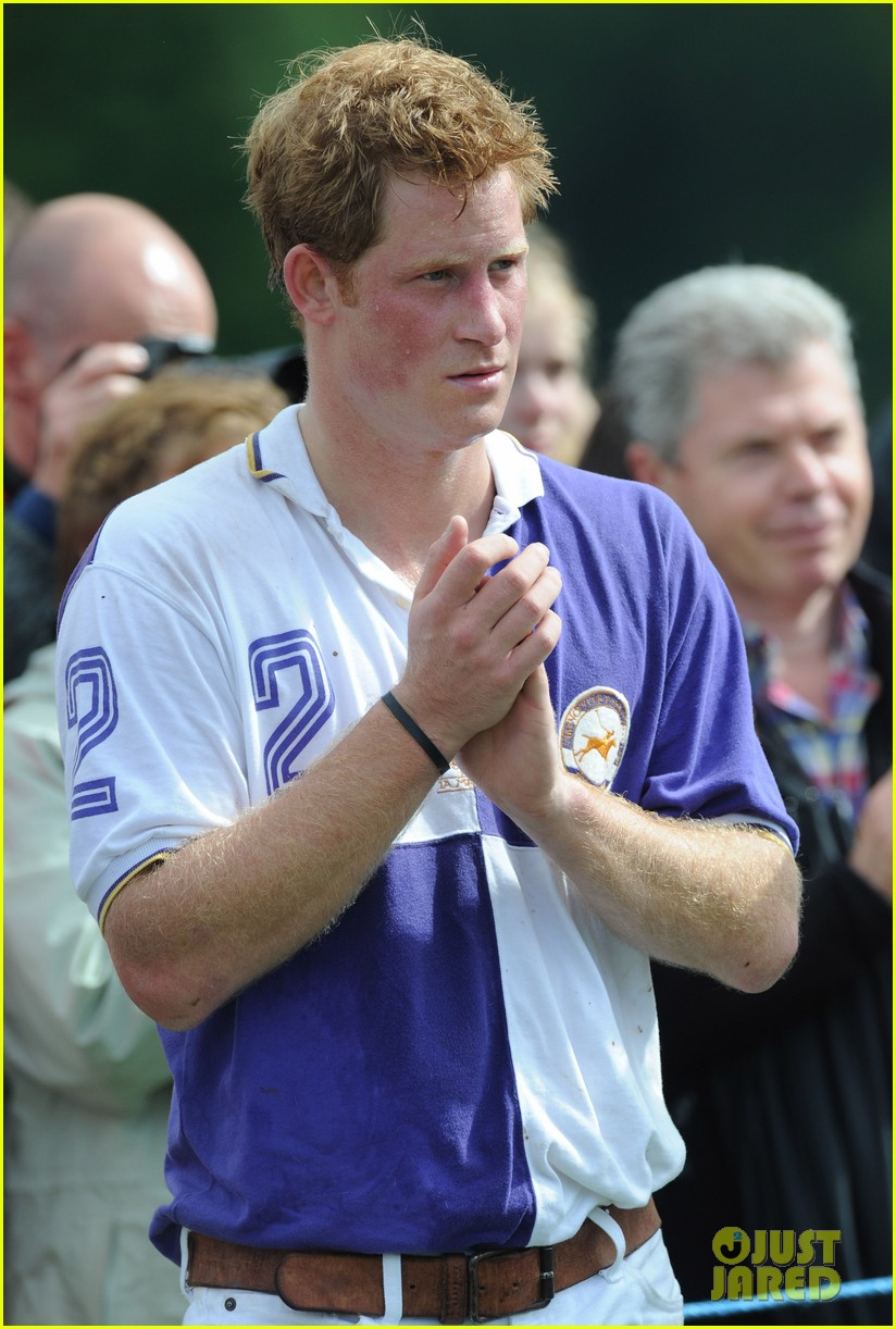 prince harry william charity polo match 132697264