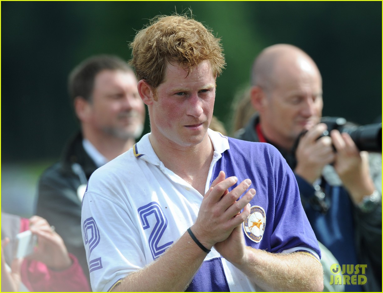prince harry william charity polo match 14