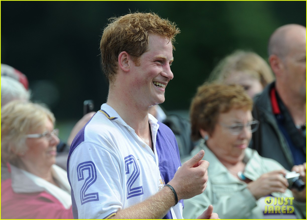 prince harry william charity polo match 152697266