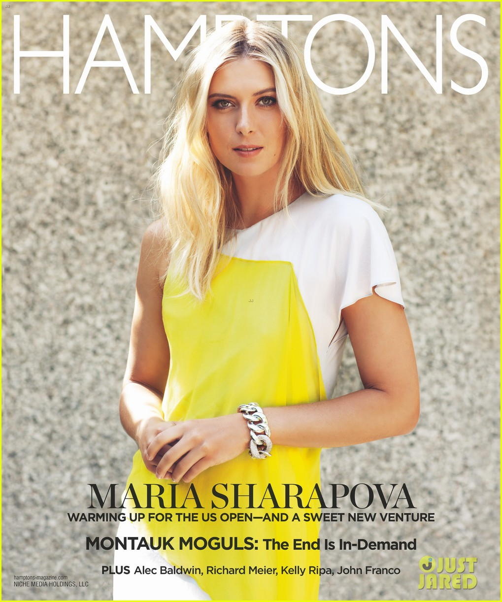 maria sharapova sugarpova launch hamptons mag cover 03