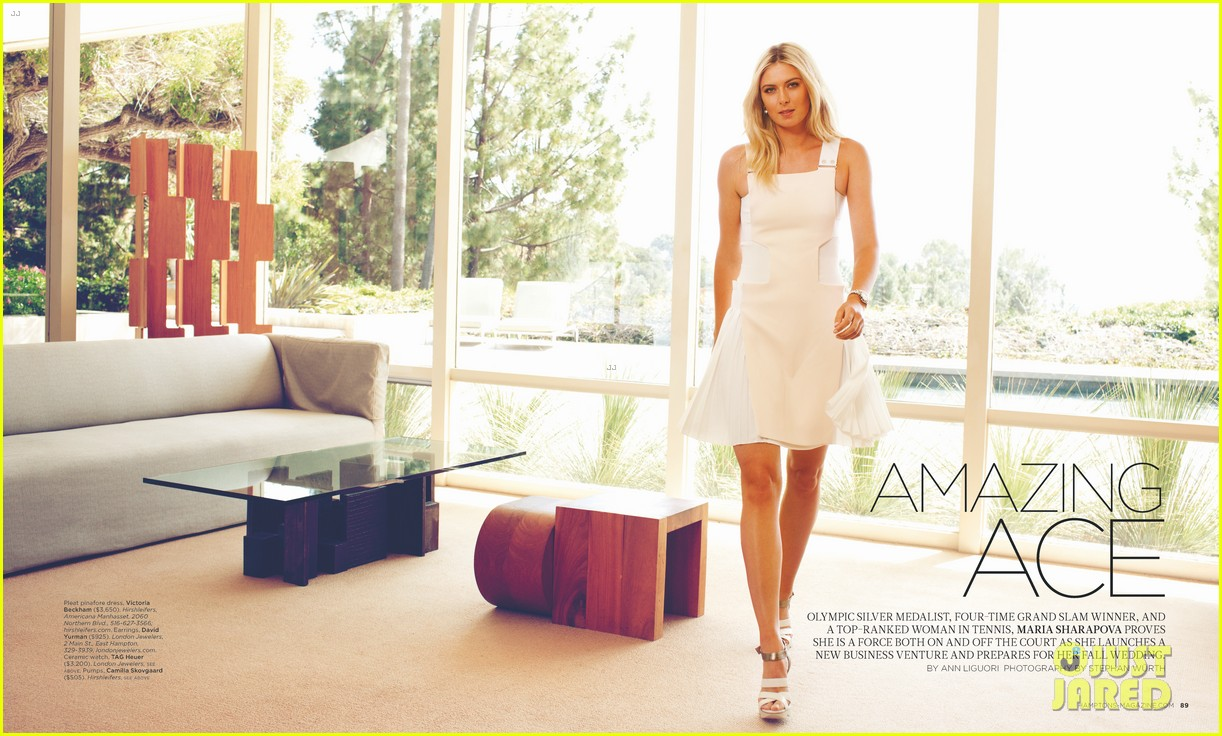 maria sharapova sugarpova launch hamptons mag cover 08