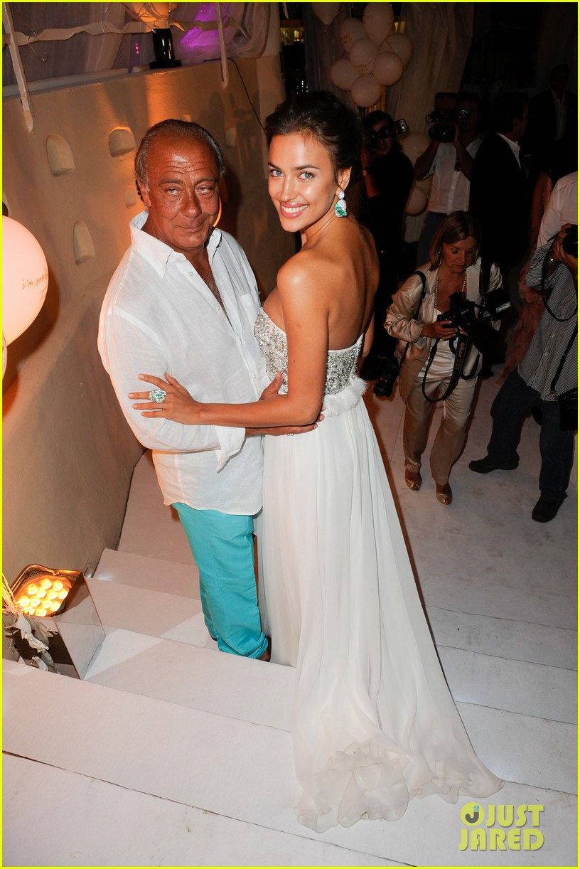 irina shayk fawaz gruosis 60th birthday bash 012699054