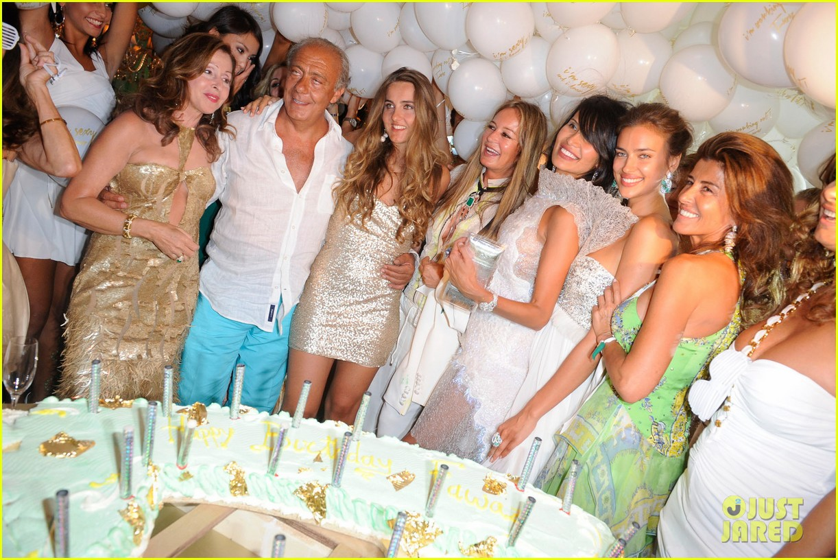 irina shayk fawaz gruosis 60th birthday bash 03