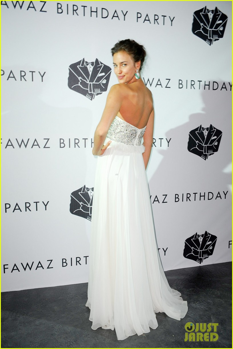 irina shayk fawaz gruosis 60th birthday bash 052699058
