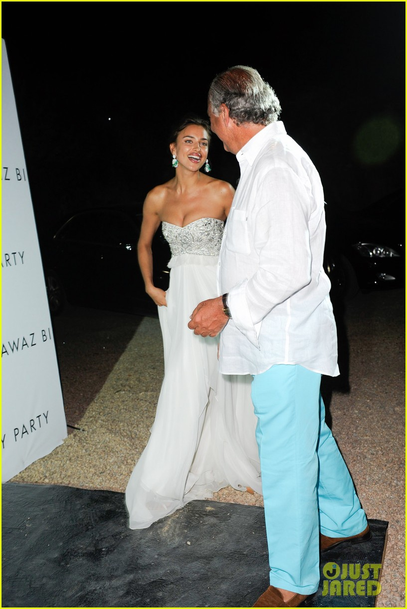 irina shayk fawaz gruosis 60th birthday bash 072699060