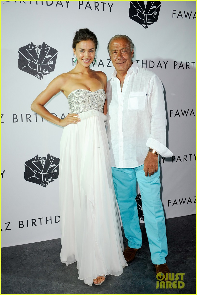 irina shayk fawaz gruosis 60th birthday bash 08