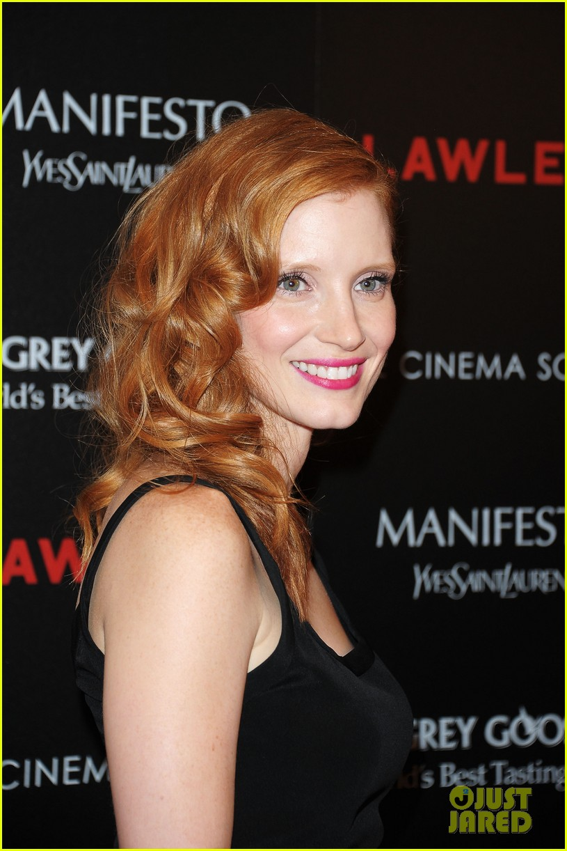 jessica chastain shia labeouf lawless nyc 16
