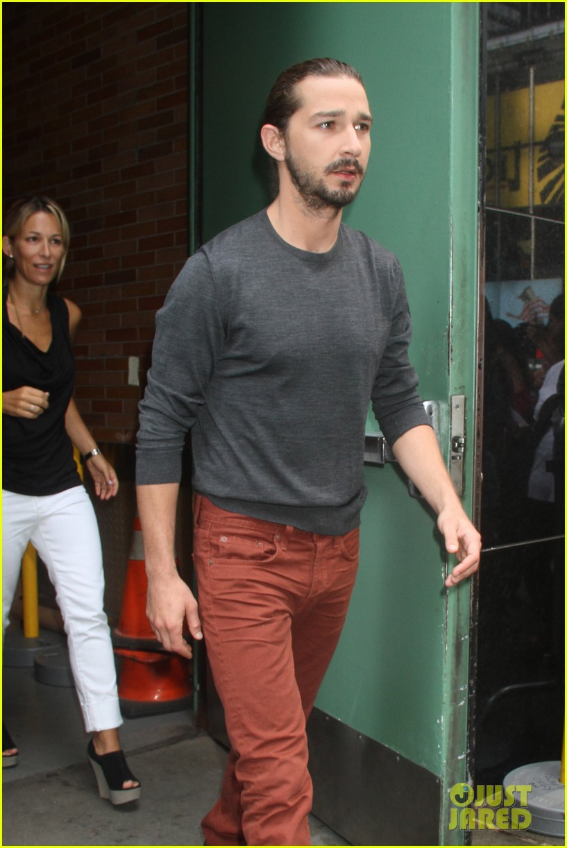 shia labeouf new york city promotion 062695298