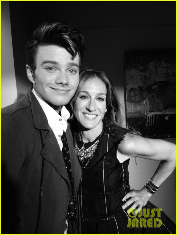 sarah jessica parker glee first look 01