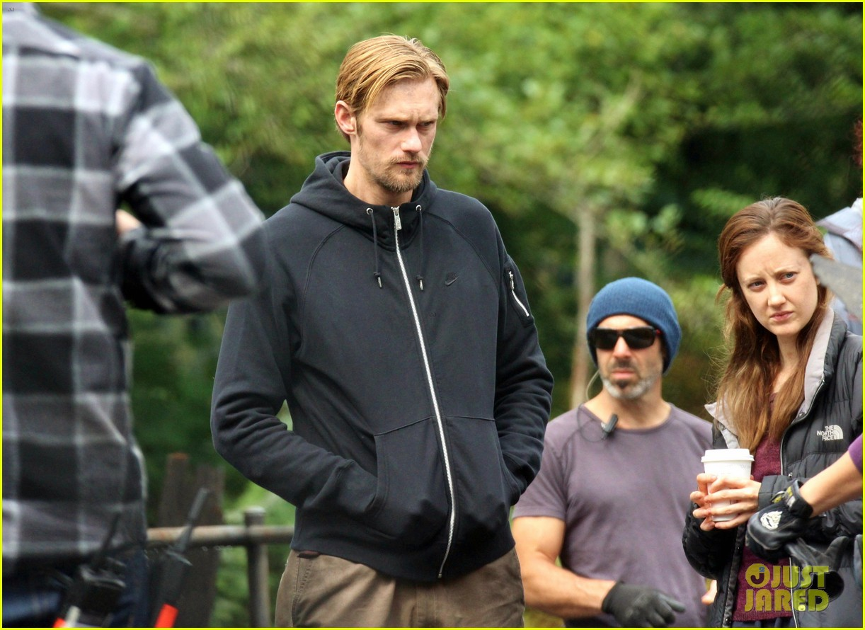 alexander skarsgard hidden set with andrea riseborough 202710476