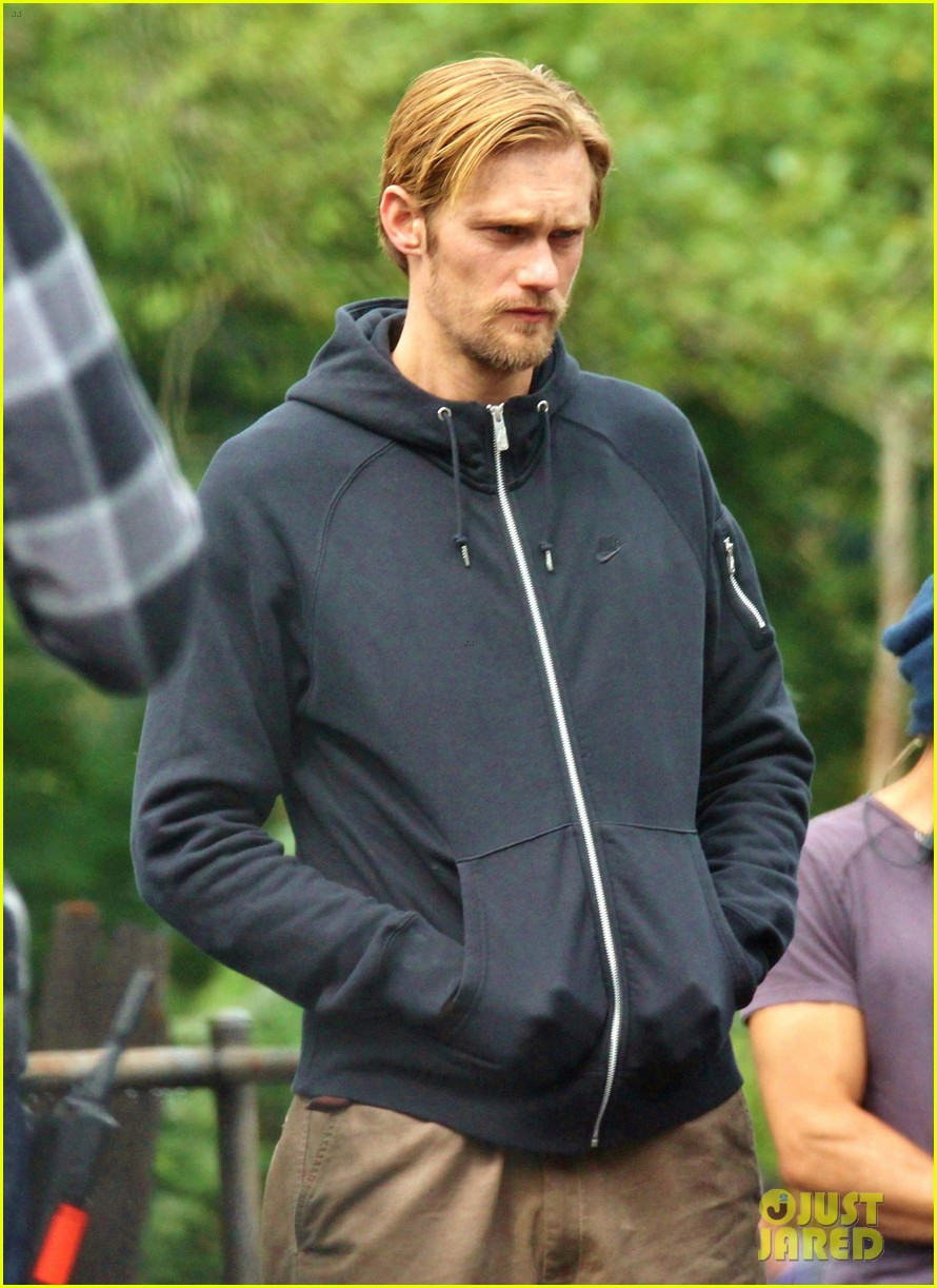 alexander skarsgard hidden set with andrea riseborough 212710477