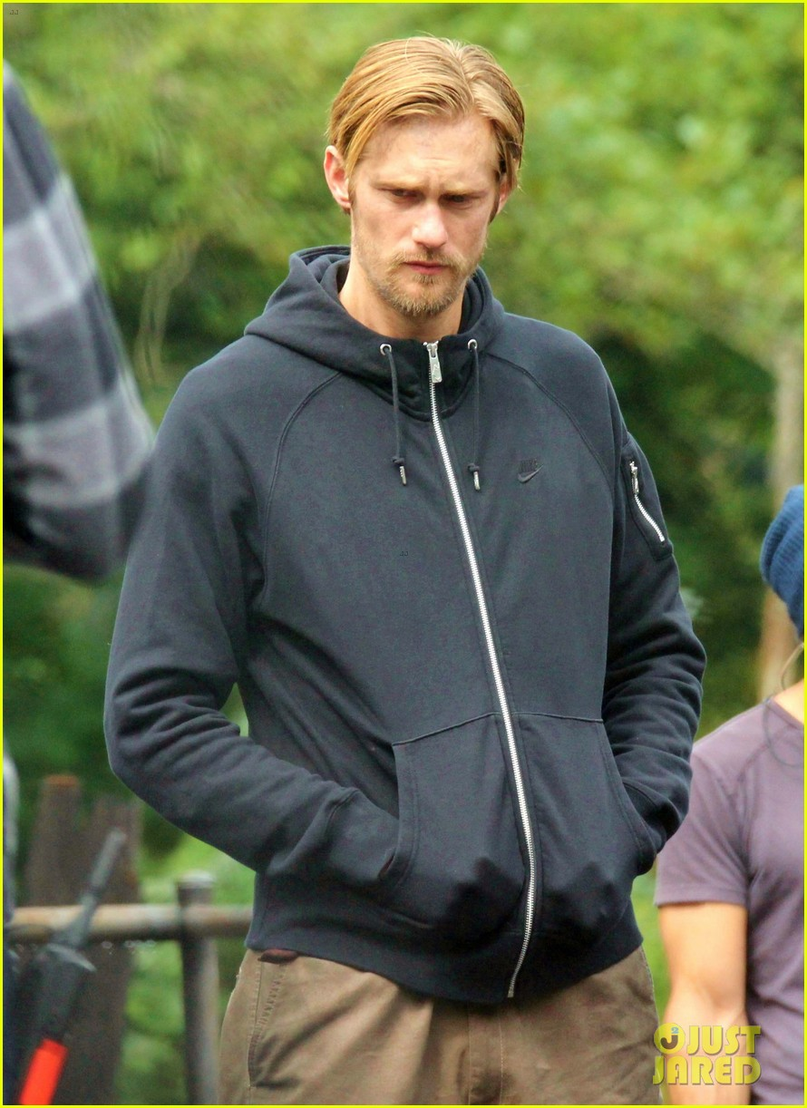 alexander skarsgard hidden set with andrea riseborough 222710478