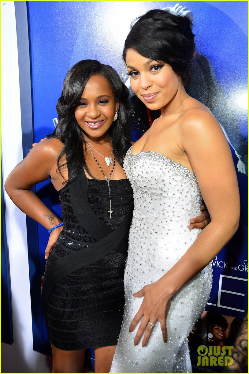 jordin sparks sparkle premiere with bobbi kristina brown 022703522