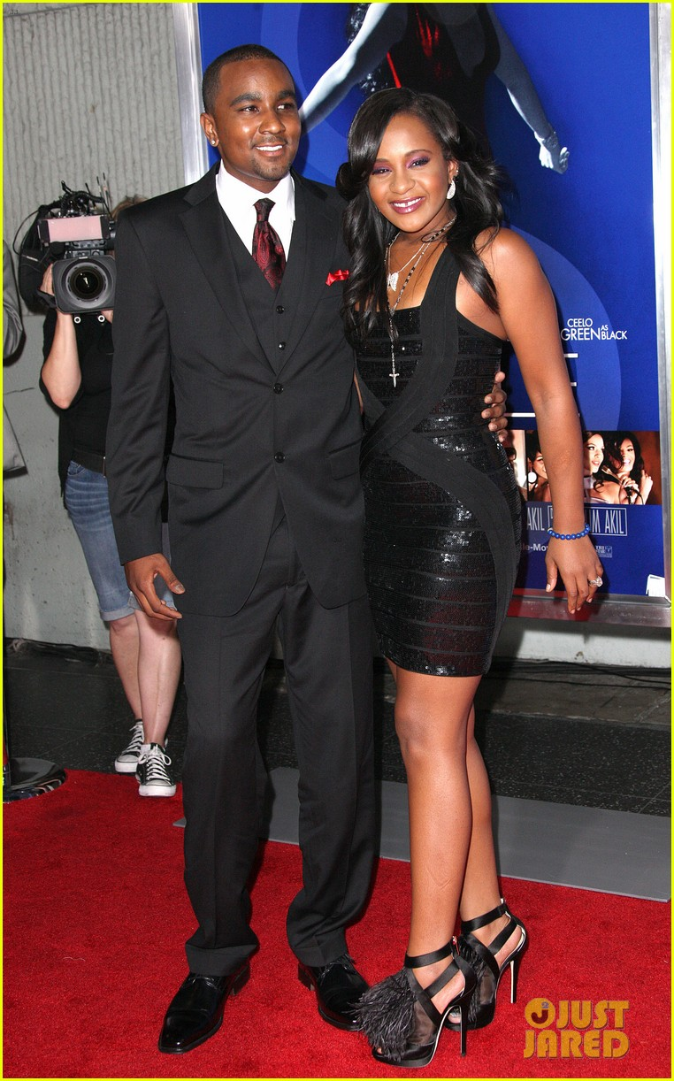 jordin sparks sparkle premiere with bobbi kristina brown 032703523