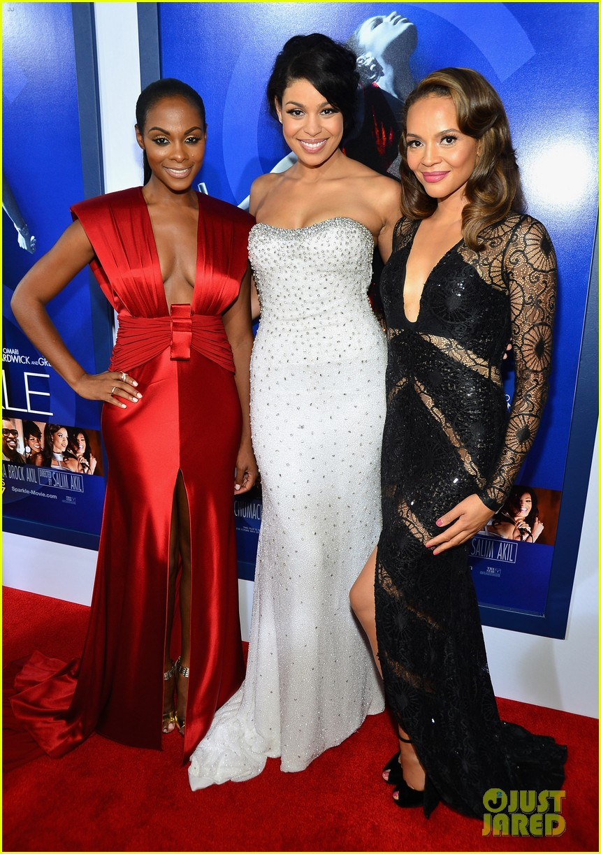 jordin sparks sparkle premiere with bobbi kristina brown 052703525
